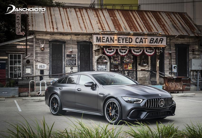 Mercedes AMG GT 63S có chế độ drift mode để xe có thể chuyển sang dẫn động cầu sau khi cần