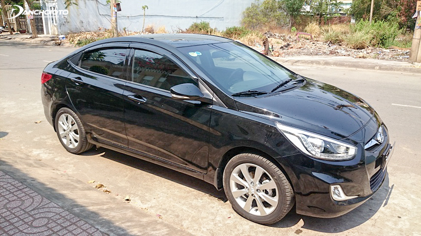 Khả năng vận hành của Hyundai Accent 2014 cũ rất ổn định và bền bỉ
