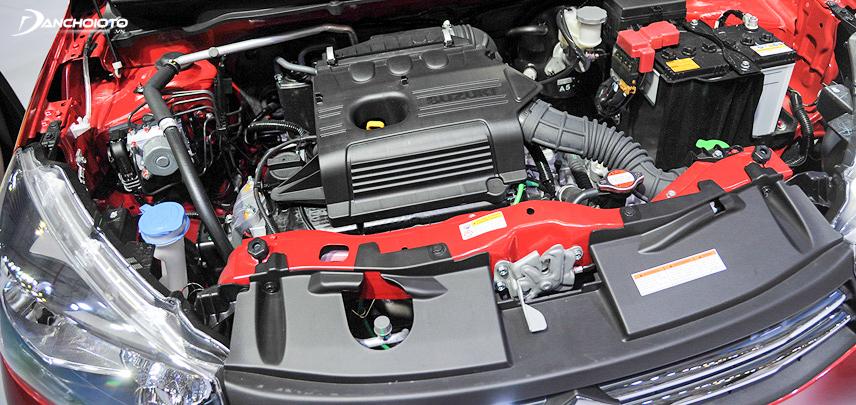 Khối động cơ được sử dụng trên Suzuki Celerio