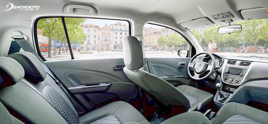 Không gian nội thất trên Suzuki Celerio