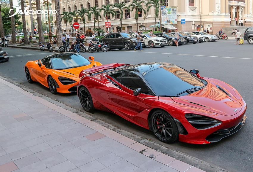 McLaren 720S màu đỏ cực độc xuất hiện trên đường phố Đà Nẵng