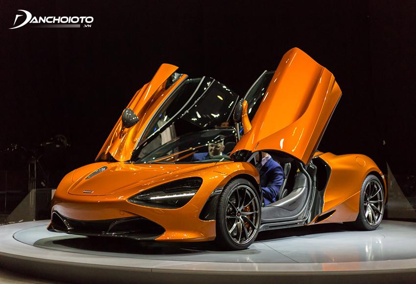 McLaren 720S ra đời đã đánh dấu cột mốc quan trọng với nhiều cải tiến mới