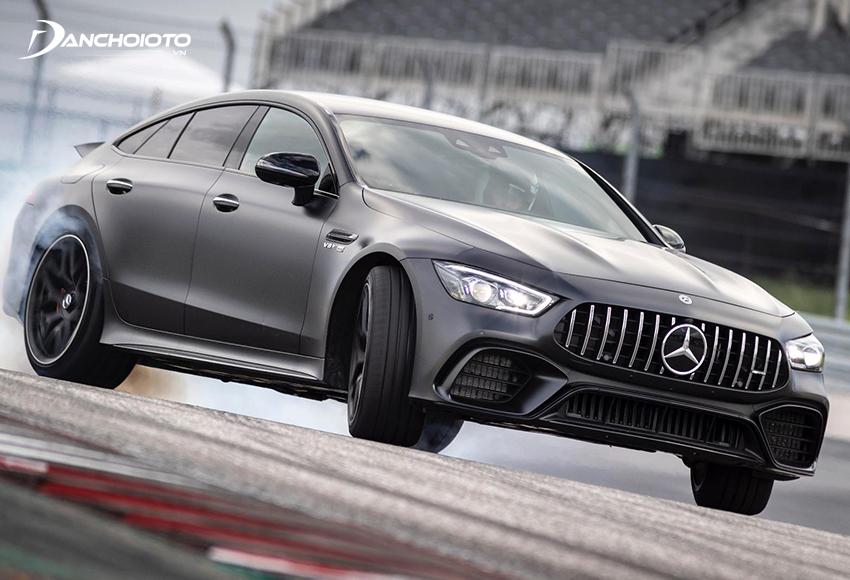 Mercedes AMG GT 63S4MATIC+ là biến thể có hiệu suất cao nhất trong dòng AMG GT Coupe