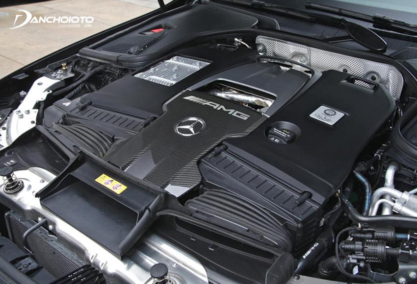 Mercedes AMG GT 63S sử dụng động cơ V8 tăng áp kép