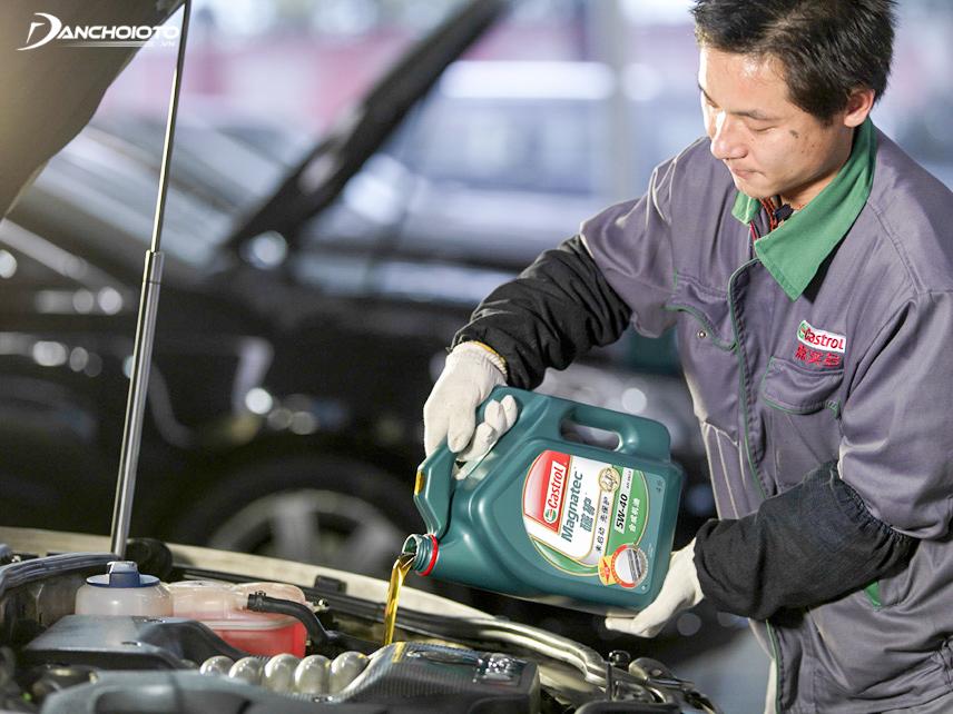 Mỗi loại xe lại phù hợp với những loại dầu nhớt khác nhau