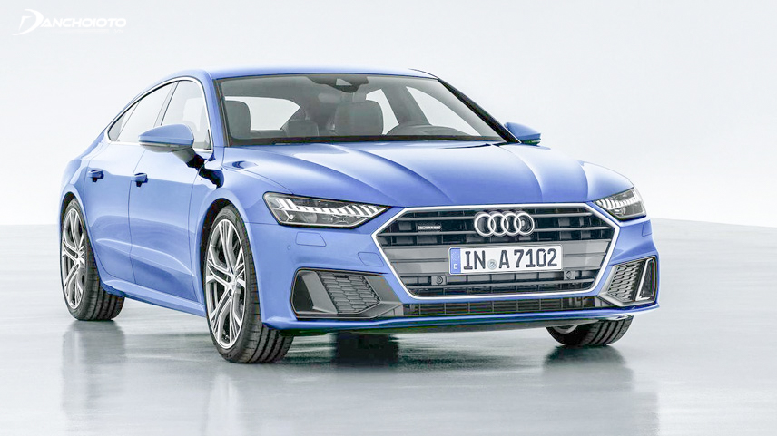 The first part of the Audi A7 2019