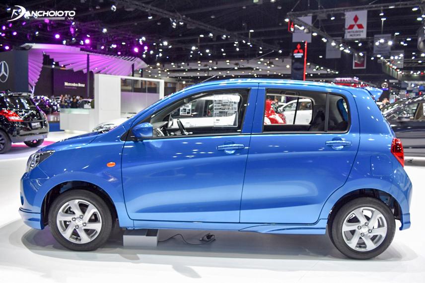 Phần thân xe của Suzuki Celerio