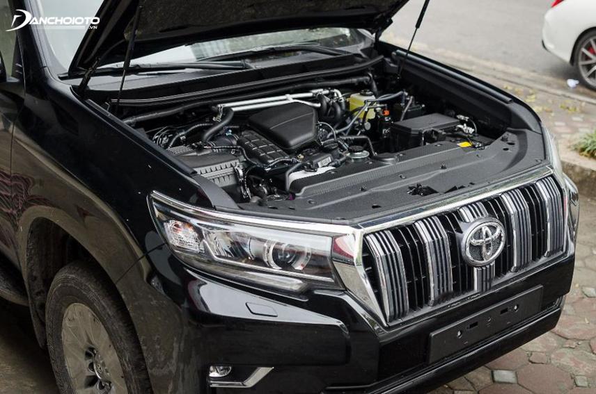 Sở hữu khối động cơ 2.7L nhưng Toyota Land Cruiser Prado chỉ đạt được công suất tối đa 170 mã lực