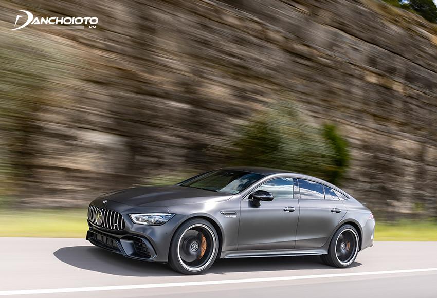 Thời gian tăng tốc Mercedes AMG GT 63S từ 0 - 100 km/h chỉ 3,2 giây
