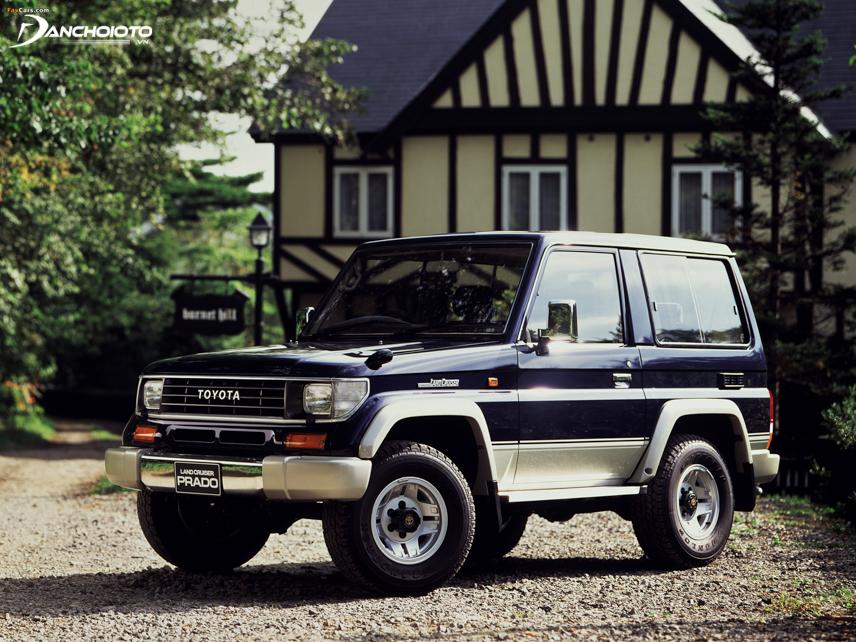 Toyota Land Cruiser Prado chính thức được trình làng vào tháng 4/1990