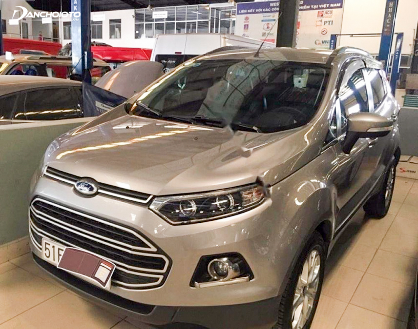EcoSport 2014 old Ford equipped for 1.5L Duratec engine
