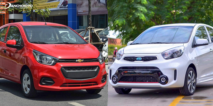 Kia Morning 2018 and Chevrolet Spark 2018