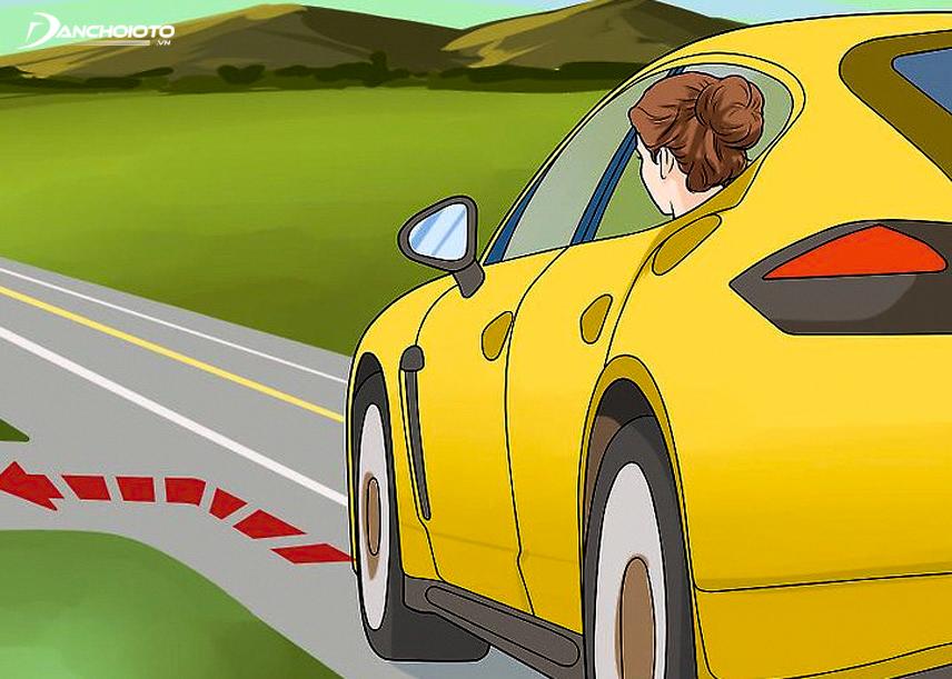 Nhảy khi xe rẽ sẽ an toàn hơn