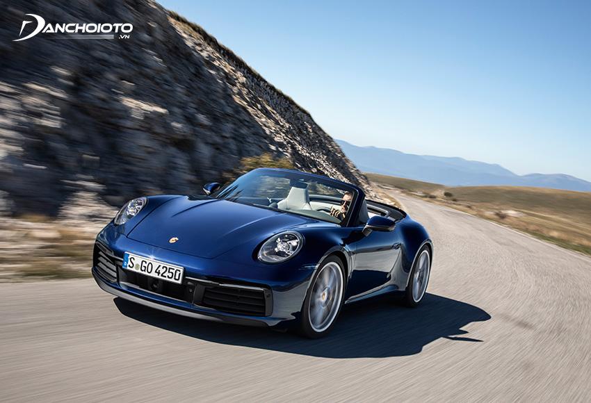 Siêu xe Porsche 911 thế hệ mới được trang bị đầy đủ những tính năng an toàn hiện đại nhất
