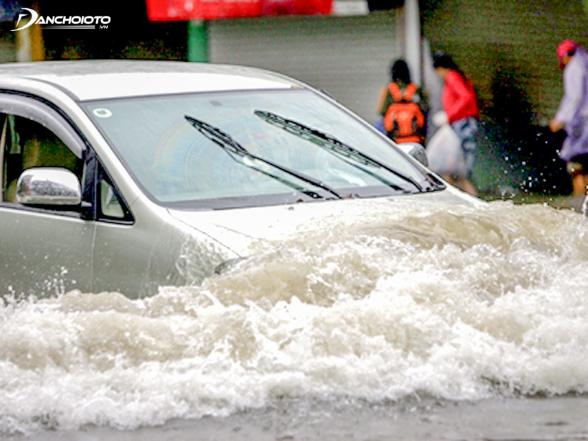 Flooded cars can cause water to seep into the interior of the vehicle