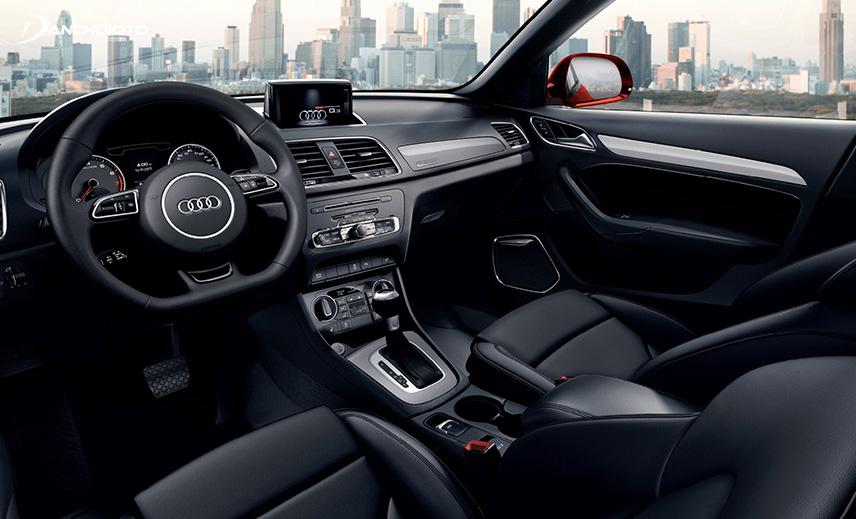 Audi Q3 has luxurious interior space and comfort
