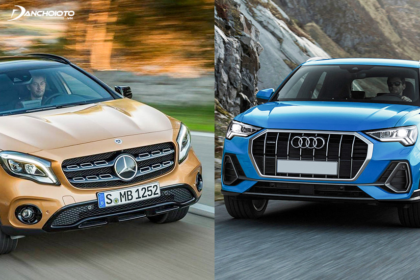 These are two typical representatives of the small luxury crossover segment