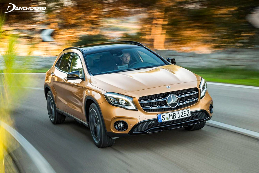 The Mercedes-Benz GLA has good engine performance