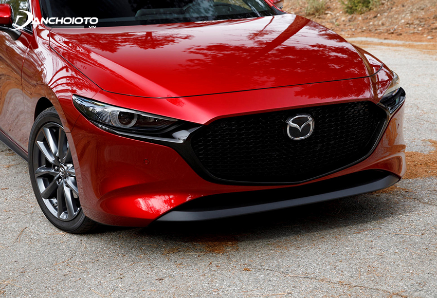 Cản trước Mazda 3 2020 đậm chất thể thao