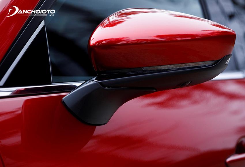 Gương chiếu hậu Mazda 3 2020 theo tuýp thon gọn thể thao