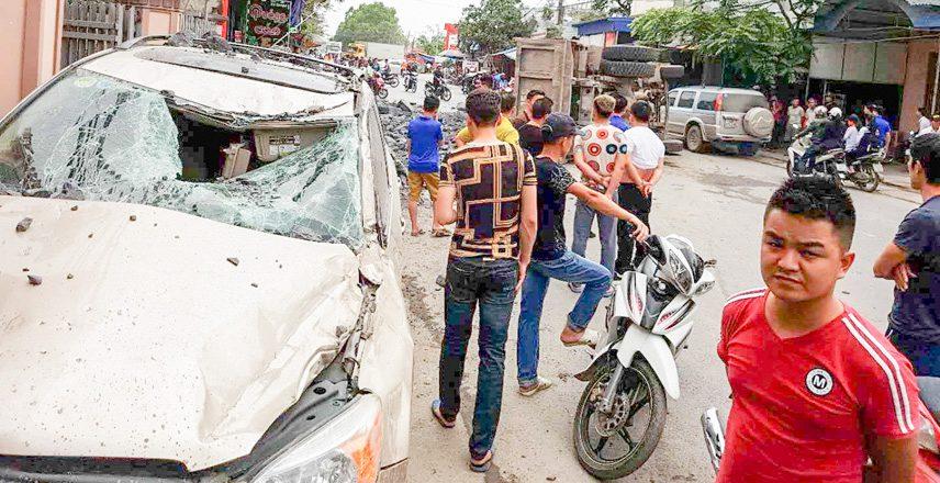 Khi xe gây tai nạn cần phải biết ai là người cầm lái