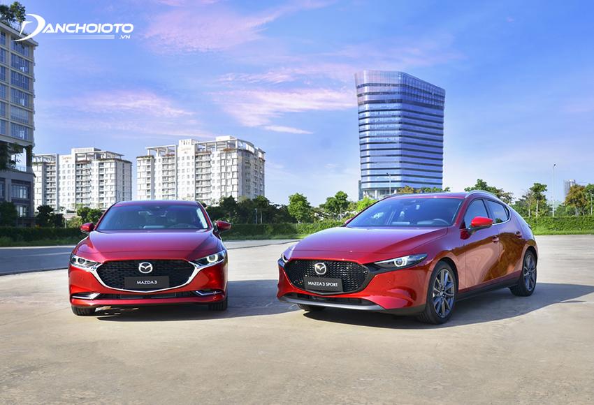 Mazda 3 2020 mang đến cho người mua 2 dòng sedan và hatchback