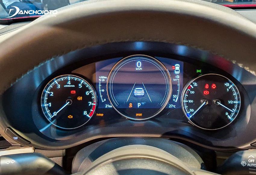 Mazda 3 2020 sở hữu cụm đồng hồ đặc sắc