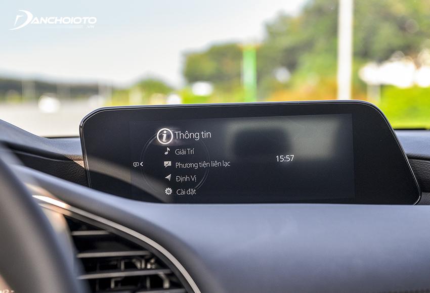 Mazda 3 2020 thế hệ mới sử dụng màn hình cảm ứng trung tấm kích cỡ đến 8.8 inch