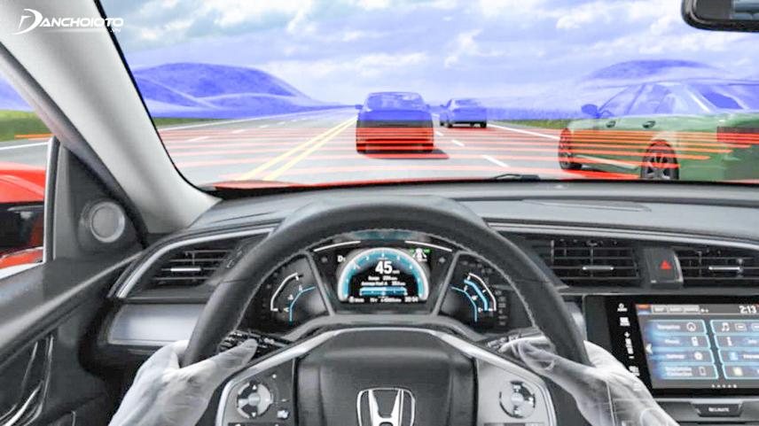 Trang bị tính năng Sensing hỗ trợ giảm thiểu tai nạn