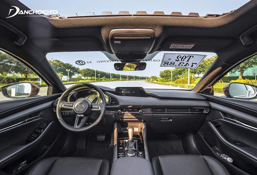"""Với triết lý """"Less is more"""", taplo Mazda 3 2020 All-New đơn giản mà sang trọng"""