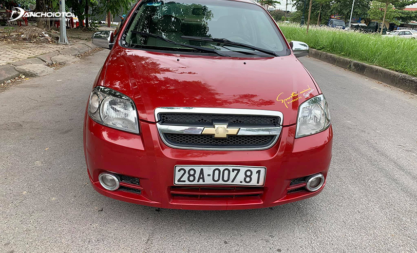 Chevrolet Aveo is an old 300 million Chevrolet car worth buying because its life is still new