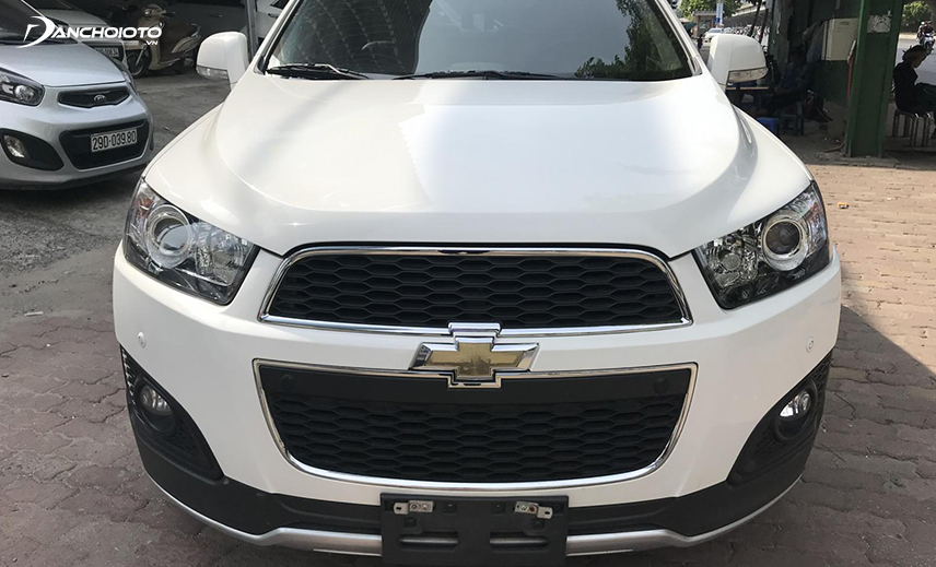 Old Chevrolet Captiva 2014 - 2015 is a 7-seater crossover model with price of VND 500 million that has a performance advantage