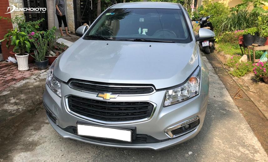 Chevrolet Cruze 2016 - 2017 cũ là mẫu xe hạng C hiếm có trong dòng xe oto cũ 400 triệu