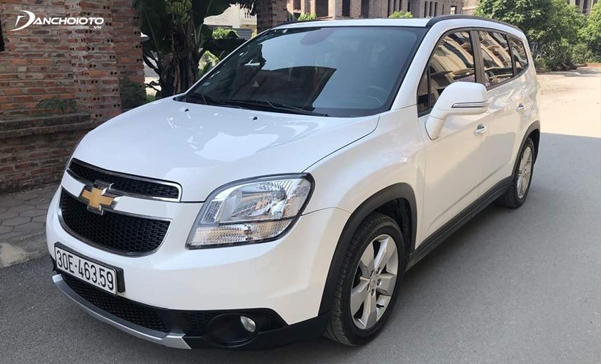 Chevrolet Orlando 2014 - 2015 là xe oto 7 chỗ giá 400 triệu vận hành đằm chắc
