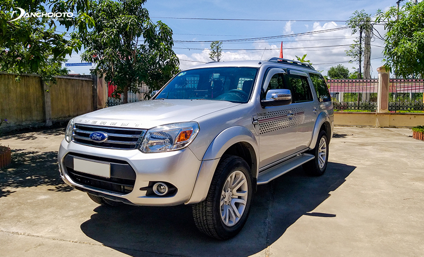 2013 Ford Everest 2013 - 2014 is worth considering when buying an old SUV of 500 million