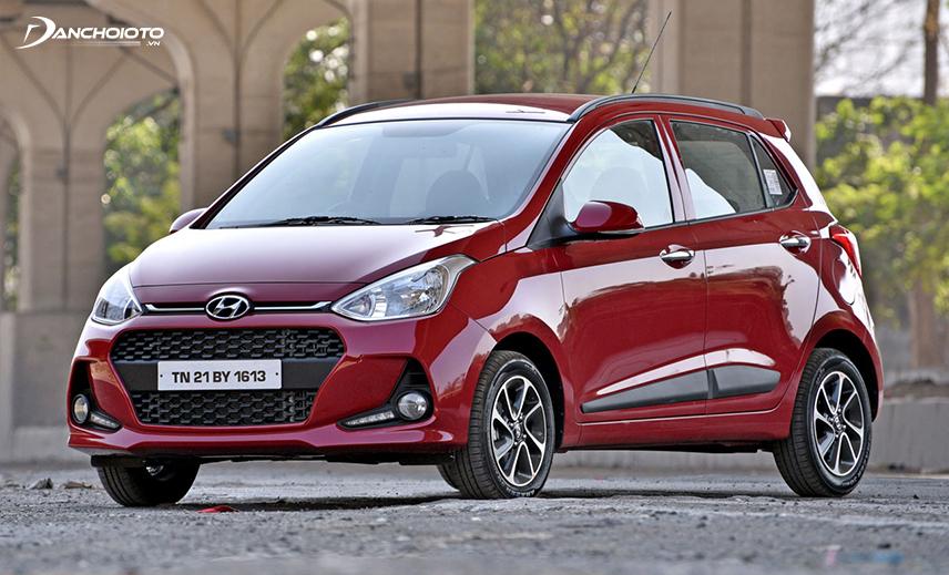 Hyundai Grand i10 là một mẫu xe 4 chỗ tầm 300 triệu bán chạy nhất hiện nay