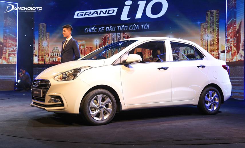 Hyundai Grand i10 sedan là mẫu xe 4 chỗ 300 triệu đáng mua nhất hiện nay