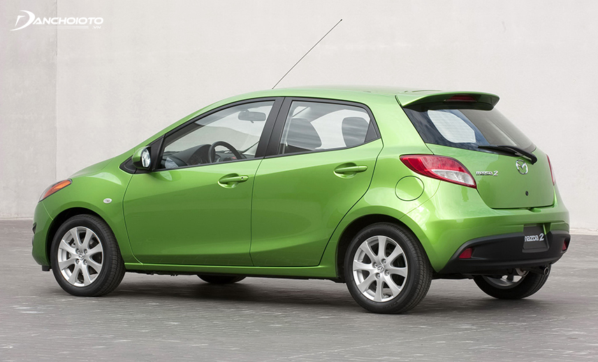 Mazda 2 is a 300 million old Mazda model that works well, but the style is somewhat outdated