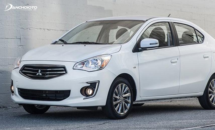 Mitsubishi Attrage là mẫu xe sedan hạng B hiếm hoi nằm trong phân khúc xe oto giá khoảng 300 triệu