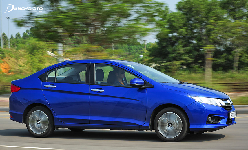 Buy the old Honda City 400 million, you can choose the old City car model 2015 - 2016