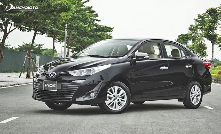 Mua Vios giá 500 triệu có thể chọn phiên bản cao nhất Toyota Vios 1.5G CVT 2019