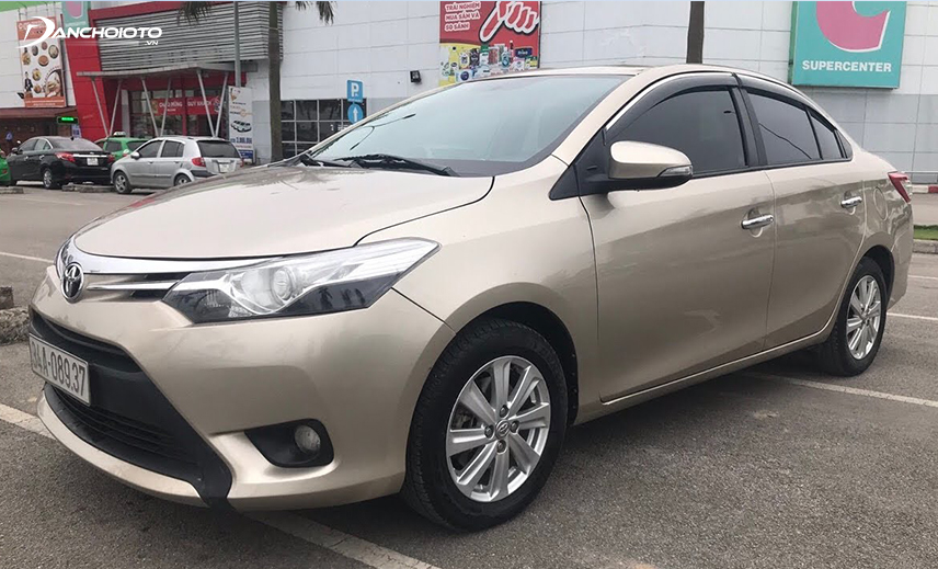 Buying an old Vios costs 300 million, you can buy a Toyota Vios 2013-2014