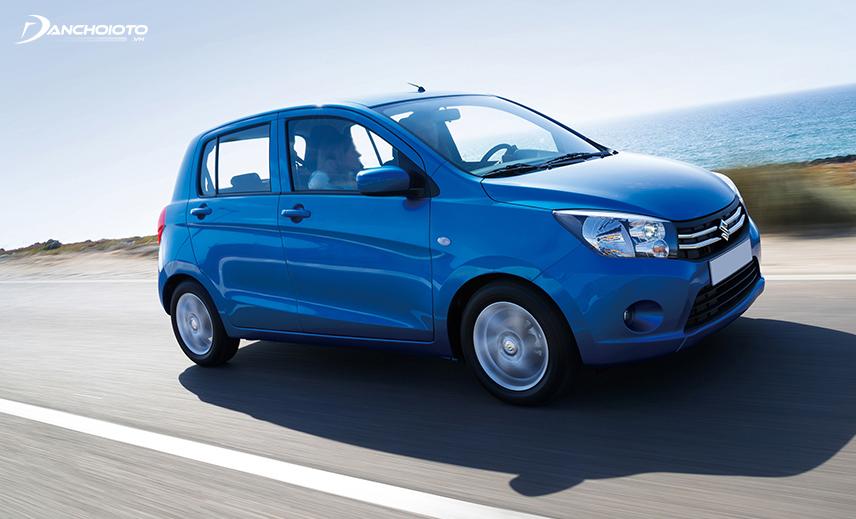Suzuki Celerio có giá bán rẻ nhất phân khúc xe hơi 4 chỗ giá 300 triệu