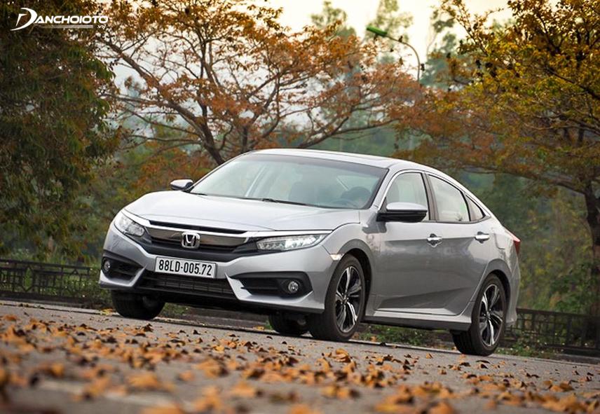 Honda Civic là một trong những mẫu xe có số lượng bán ra cao