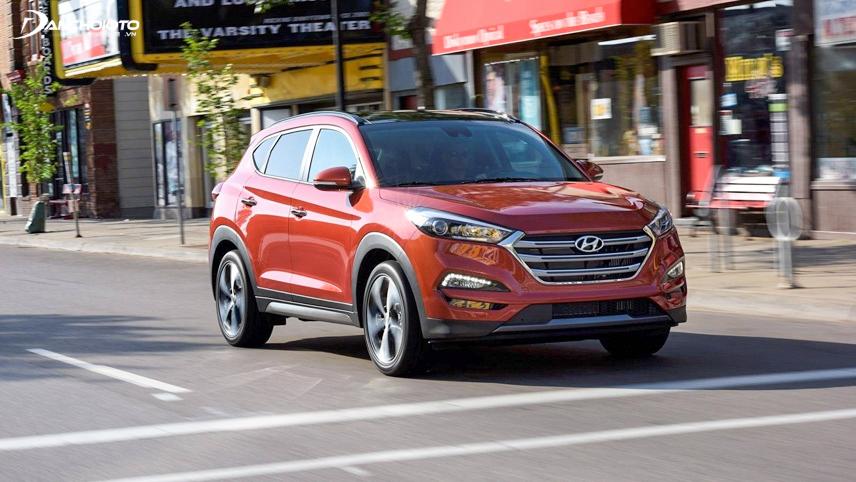Hyundai Tucson 2019 sở hữu nhiều trang bị an toàn hiện đại