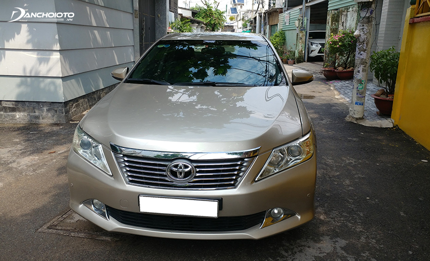 Buy the Camry 700 million, you can choose the old Toyota Camry model from 2013-2014