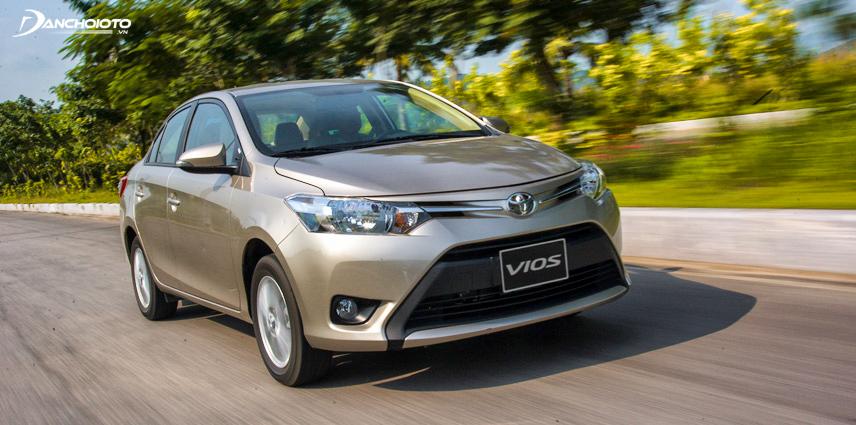 Toyota Vios thuộc phân khúc xe ô tô hạng B
