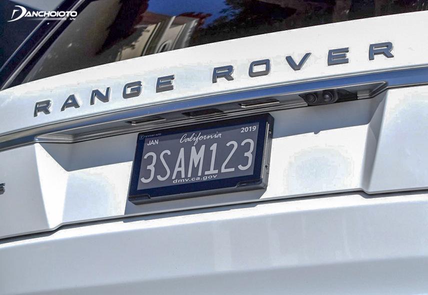 Biển số xe ô tô điện tử ở Califonia