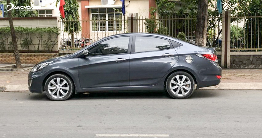 Performance of the old 2012 Hyundai Accent is quite strong and smooth