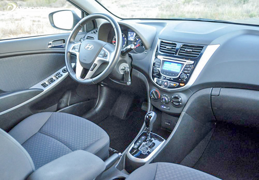 Interior space of the old 2012 Hyundai Accent is quite spacious and comfortable